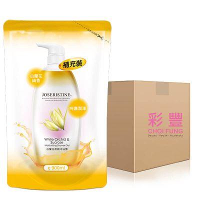 A-03783-W0004-N 白蘭花蔗糖沐浴露(補充裝) 1箱(10包)
